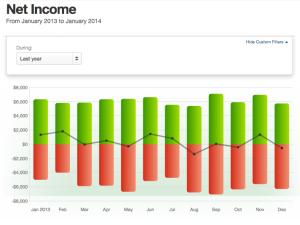 Net Income: 2013